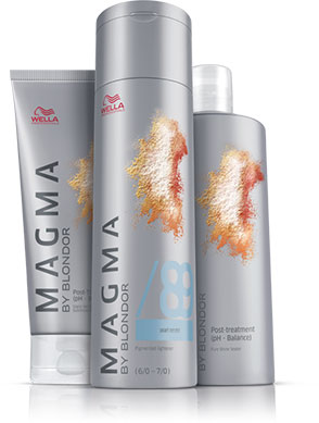 Wella Magma Blondor producten